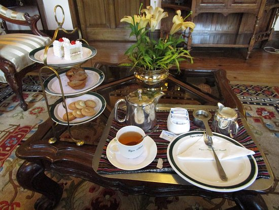 The Elgin, Darjeeling: Afternoon tea