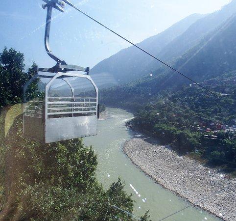 Kurintar, نيبال: Cable car