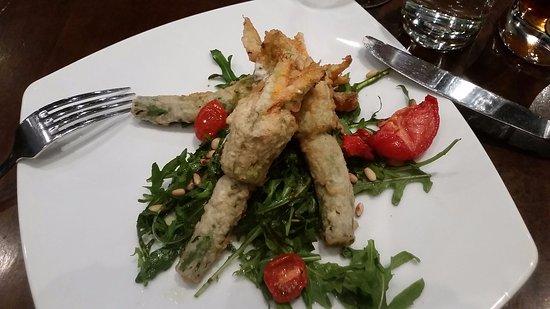 benchmark wine bar zucchini flowers