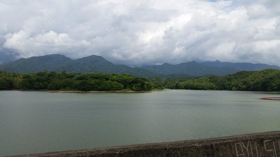 Jembrana, Indonesia: View from Dam