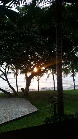 Pekutatan, Indonesia: Sunset View from Restuarant