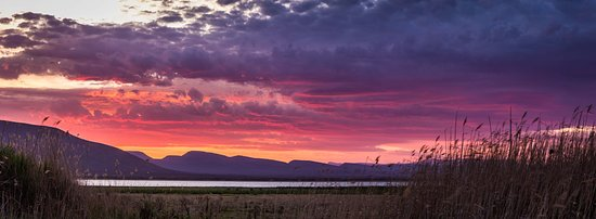 Eastern Cape, Afrika Selatan: Sunset view from Camdeboo Lake Tents (Photo by Drive South Africa #TrekSouthAfrica)