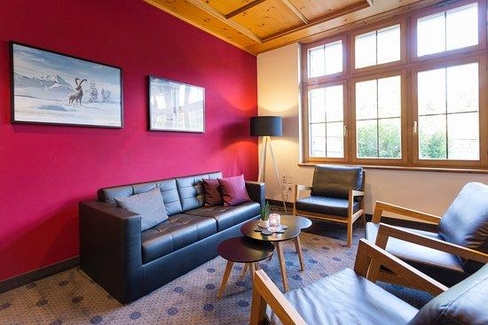 Hotel Laaxerhof: Smoker's Lounge Sala Grischa