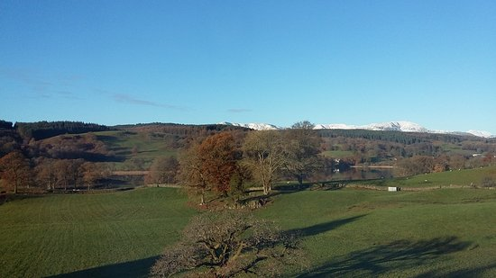 Near Sawrey, UK: Beautiful autumnal views from the Blue Room