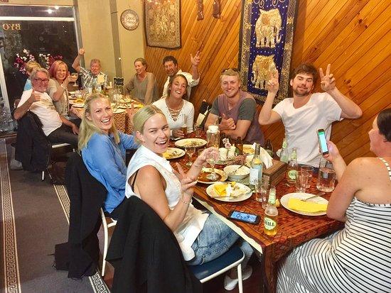 Glen Innes, Australia: Good times @ The Thai House @ GI