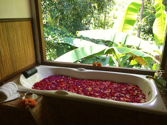 Flower bath. - Picture of Bali Botanica Day Spa, Ubud - TripAdvisor