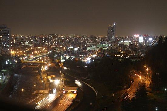 San Cristobal Tower: Night view