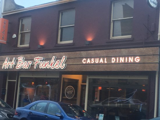 Newry, UK: New frontage