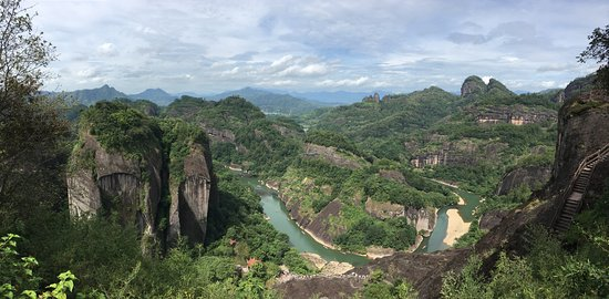Wuyi Shan, الصين: Great view