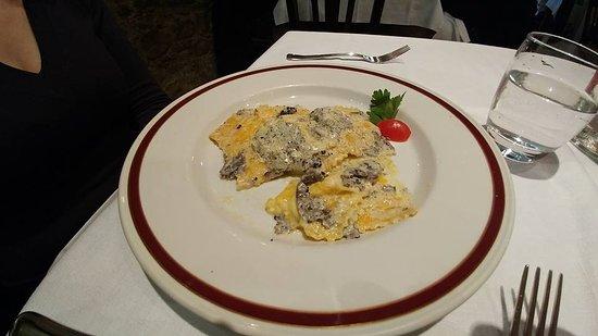 Umbertide, Italie : Ravioli al tartufo