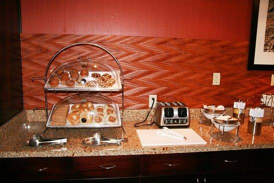 Woodstock, VA: Breakfast Area