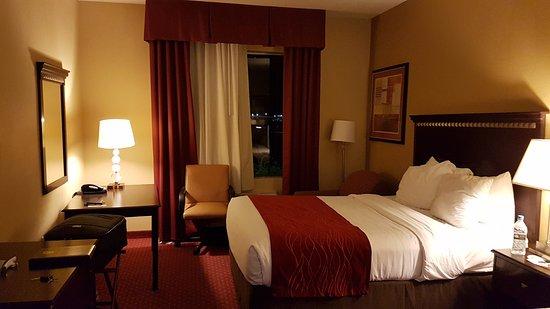 Comfort Inn & Suites Maingate South : Apto com 2 camas