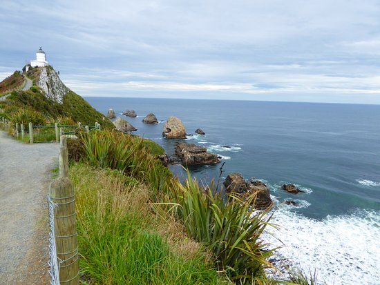 Invercargill, นิวซีแลนด์: Leuchtturm am Kaka Point