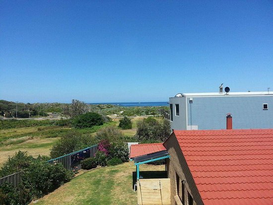 Prevelly, Australia: The view from Villa 2 at location 1.