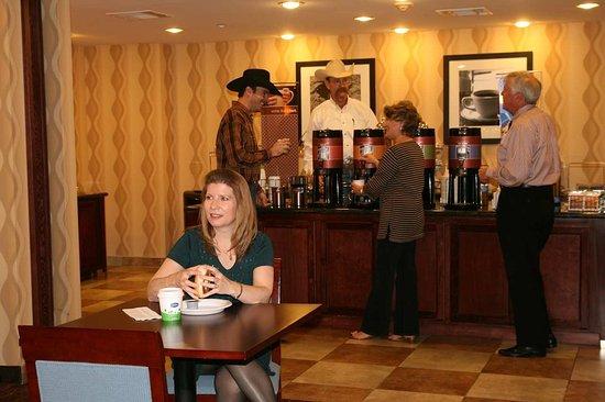 Bastrop, Teksas: Breakfast Area