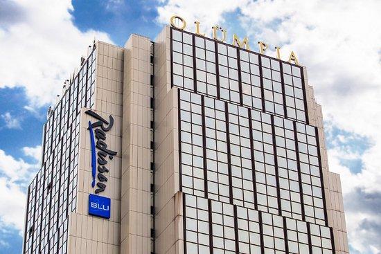 Radisson Blu Hotel Olumpia: Exterior