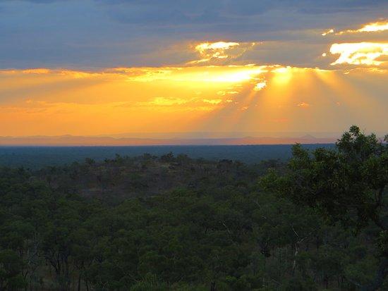 Undara Volcanic National Park, Avustralya: Undara sunset