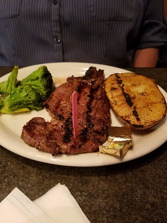 Daphne, AL: ribeye steak