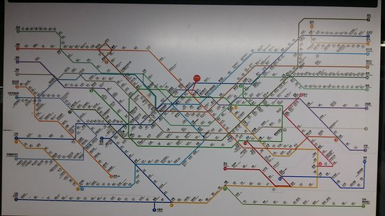 Seoul subway map Picture of Seoul Metro Seoul TripAdvisor