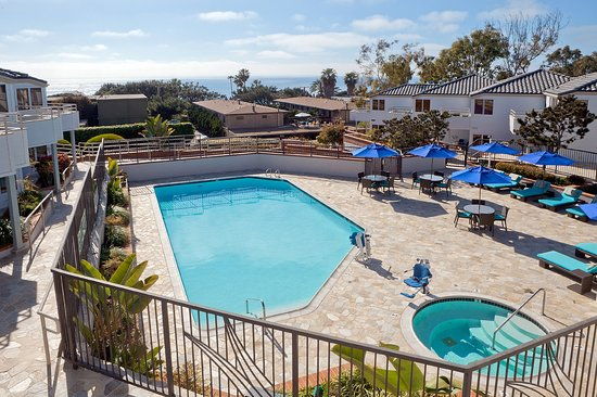 Del Mar, CA: With two pools on-site, you never have to walk far to sun bathe