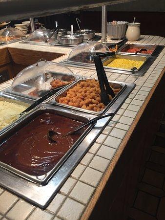 Tappahannock, Вирджиния: buffet