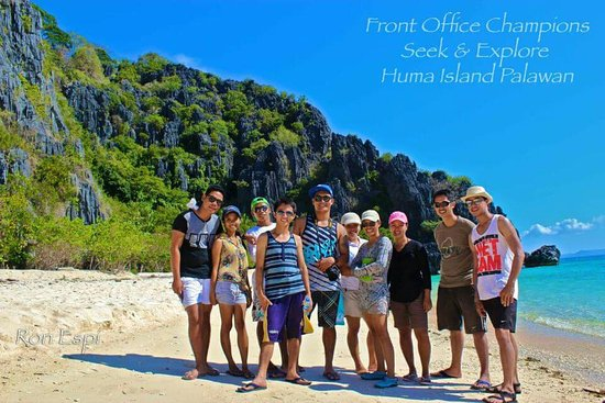 Busuanga Island, Filipinas: With my former co-champions