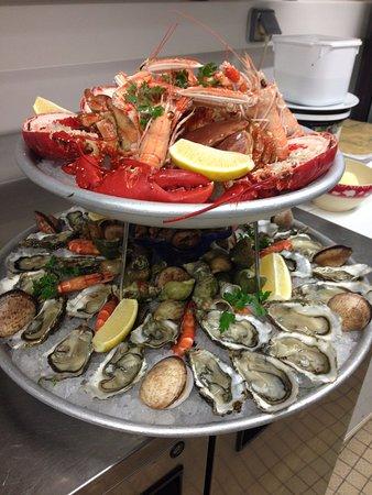 Crecy-la-Chapelle, Frankreich: Plaisir fruits de mer
