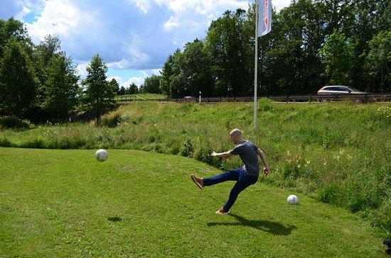 Uppsala fotbollsgolf summer 2016