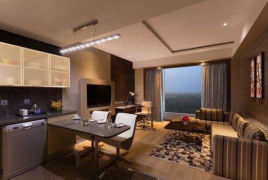 Greater Noida, India: One Bedroom Apartment - Living Room