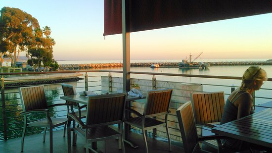 Perfect View Picture Of Watermans Harbor Restaurant Dana Point