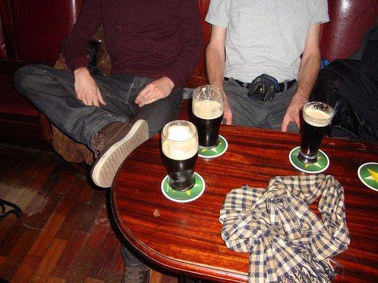 McGinleys Bar: Fresh from the bar..
