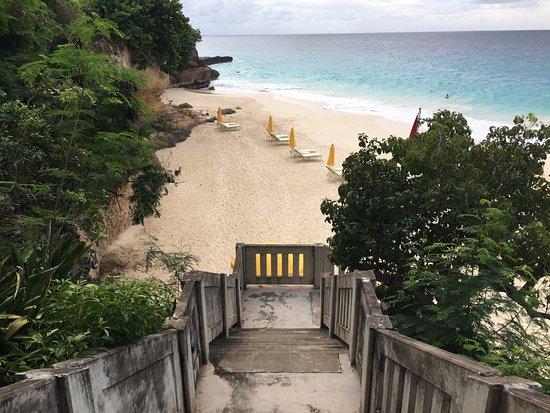 West End Village, Anguilla: The private beach - Turtle Cove