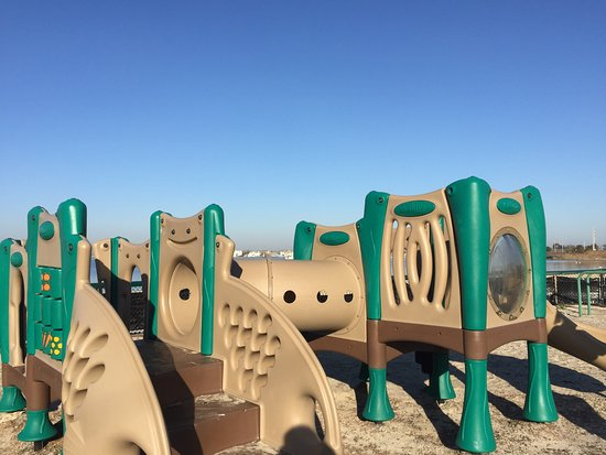 Seaside Park, NJ: Overview of younger kids' area