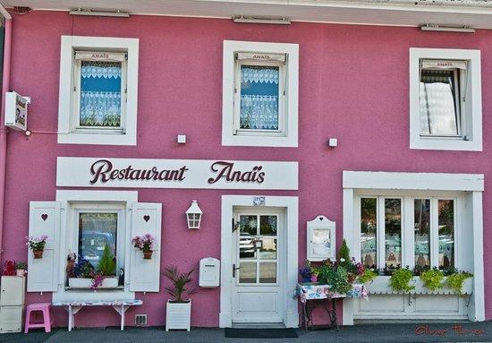 Anaïs Restaurant : Aperçu de la façade du Restaurant