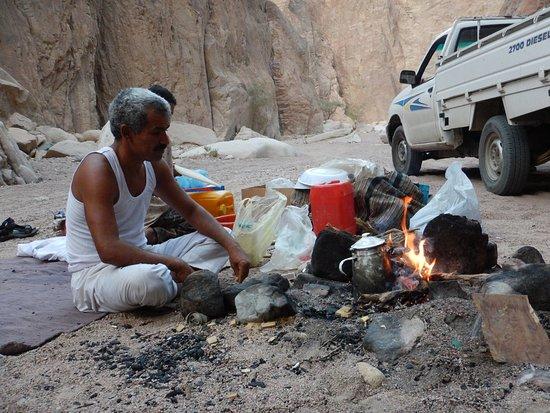 Kawm ad Dahab, Egypten: Ausflug in die Berge
