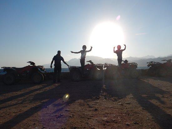 Kawm ad Dahab, Egypten: Quadbike
