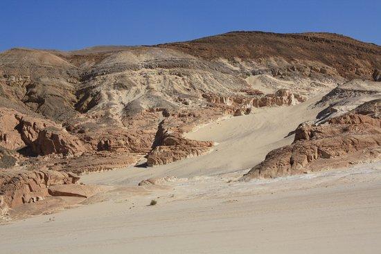 Kawm ad Dahab, Egypten: White Canyon