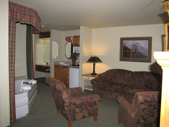 Hamilton, MT: Deluxe Spa Suite