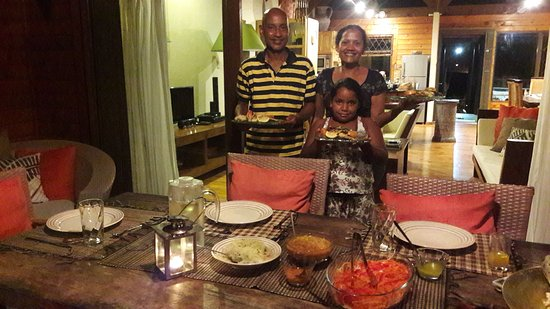 Amitie, Seychelles: Stella and Georges