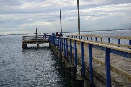 Сюррей, Канада: Locals use this pier for crab traps and fishing.