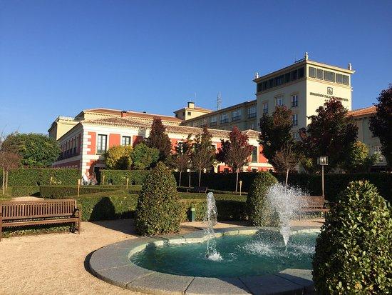 eurostars palacio buenavista jardines exteriores