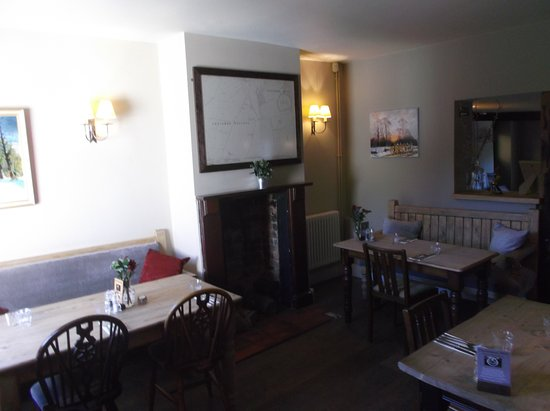 Letcombe Regis, UK: A smaller dining room