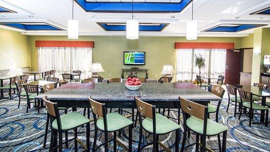 Elkton, Μέριλαντ: Breakfast Area