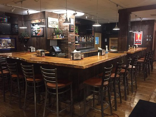 Woodstock, Nueva Hampshire: plenty of bar seats
