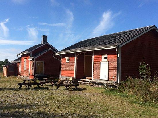 Salgrund Pilot Station: Sälgrund | The buildings on the island