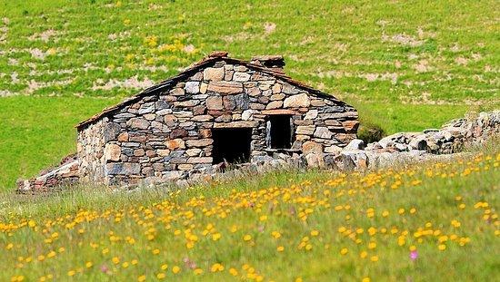 Herdershut op de Coll d'Ordino.