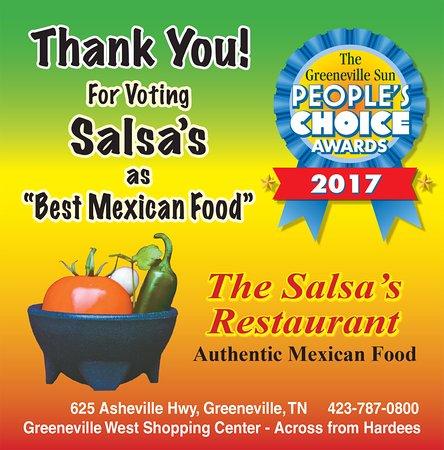Greeneville, TN: Salsas 2017