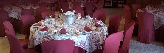 La Palma del Condado, Spanien: Salón vestido para eventos concertados. Taberna Chocaito