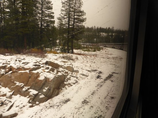 California Zephyr: Sierra Nevadas