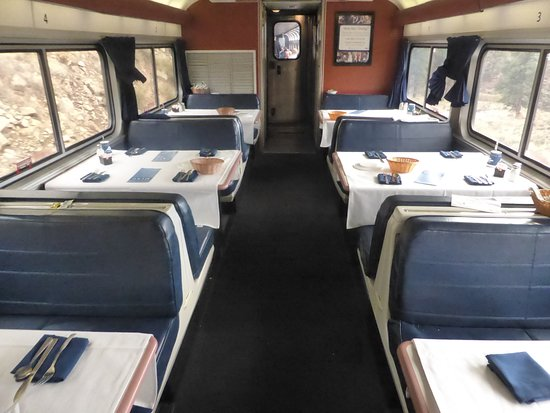 California Zephyr: dining car